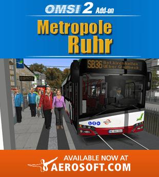 OMSI 2 AddOn Metropolis Ruhr