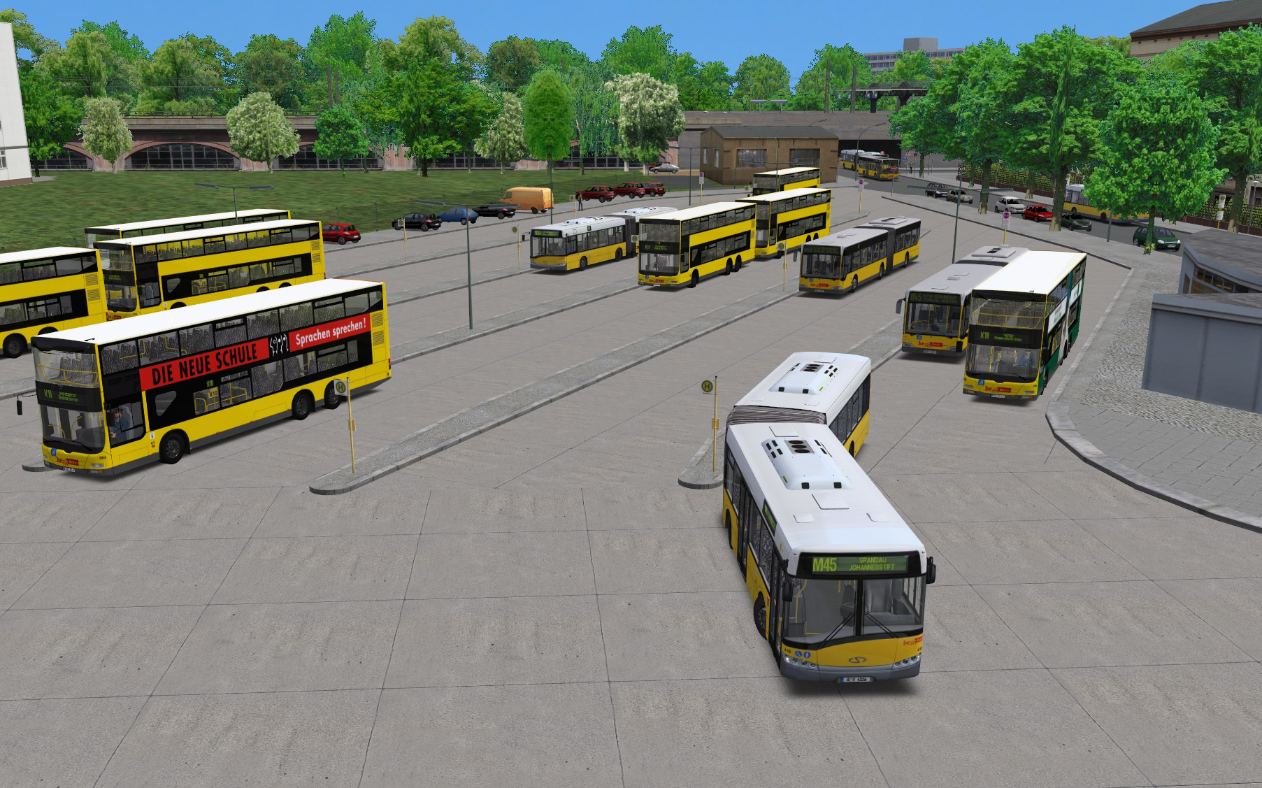 Modpack for Berlin X10 pay-ware addon - OMSI - WebDisk