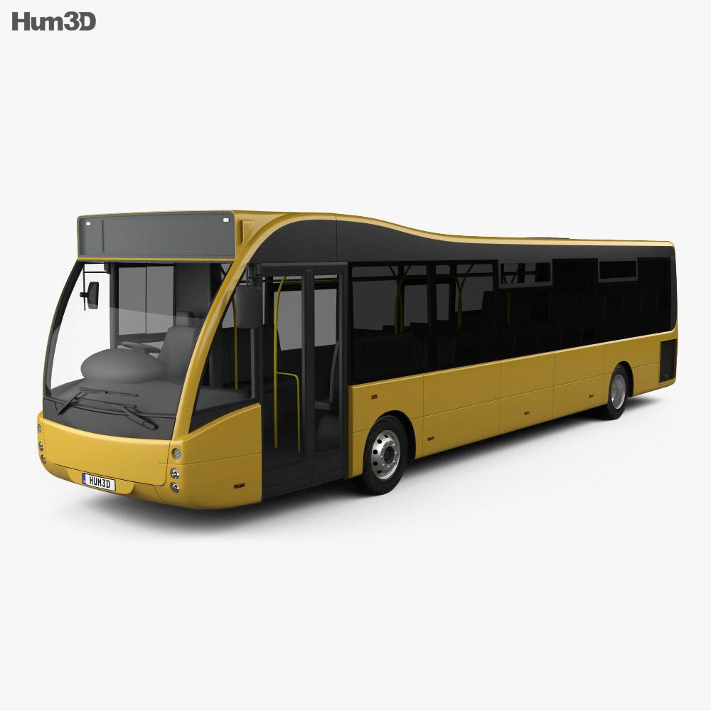 Optare Versa Bus 2011 3D model - Vehicles on Hum3D