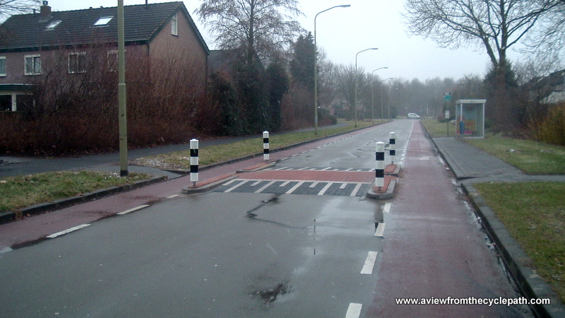 A view from the cycle path: Speed Bumps are not effective