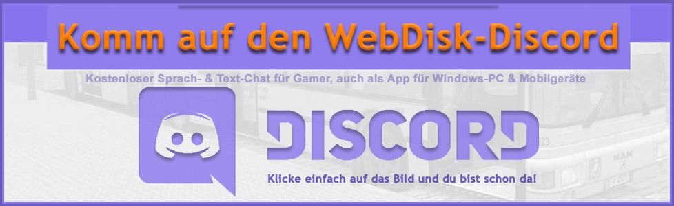 WebDisk | Discord Server der OMSI - WebDisk