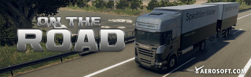 Aerosoft   On the Road - Truck Simulator