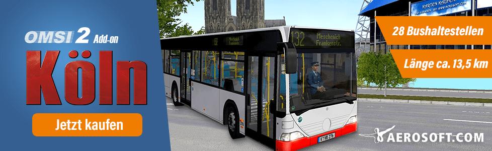 Aerosoft | OMSI 2 AddOn Köln jetzt erhältlich!