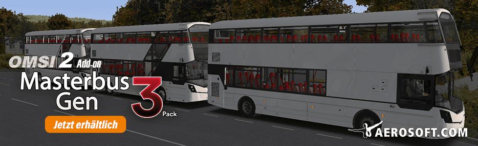 Aerosoft | OMSI 2 AddOn Masterbus 3 Generationen jetzt erhältlich!