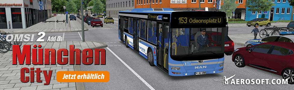 Aerosoft | OMSI 2 AddOn München jetzt erhältlich!