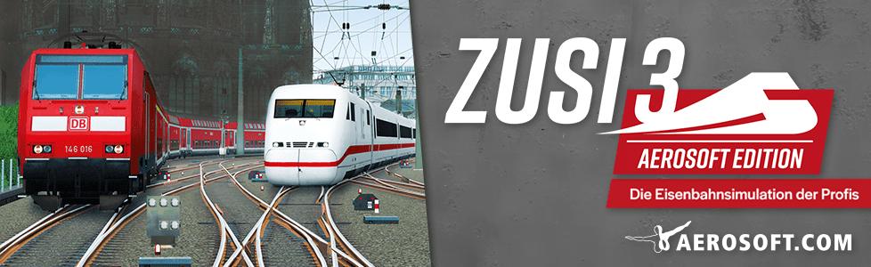 Aerosoft | ZuSi 3 ab sofort erhältlich
