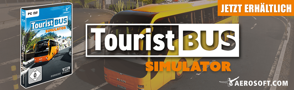 Aerosoft | Tourist Bus Simulator ab sofort erhältlich